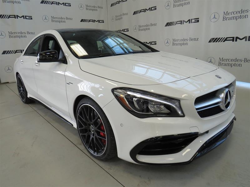 New 2019 Mercedes Benz Cla Cla45 Amg 4matic Coupe In Brampton